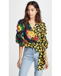 a482085c6fd97 Rosario Tie Waist Kimono Top.  330  231 (30% off). Shopbop · Alice + Olivia  - Dominica Reversible Blouse - Lyst