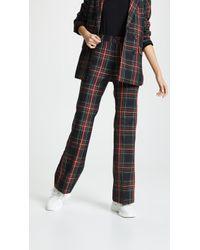 Cynthia Rowley - Astor Straight Trousers - Lyst