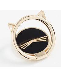 Kate Spade - Cat Ring Iphone Stand - Lyst