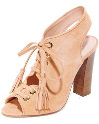 Club Monaco - Mireva Lace Up Sandals - Lyst