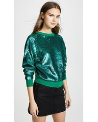 Toga Pulla - Sequin Open Back Sweater - Lyst