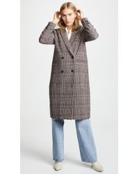 Cupcakes And Cashmere - Adi Plaid Duster Jacket - Lyst
