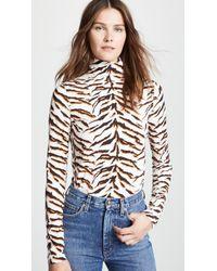 M.i.h Jeans - Bay Garnett Tiger Turtleneck - Lyst
