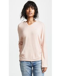 Monrow - Supersoft Surf Lodge Poncho - Lyst