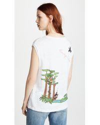 Mira Mikati - Rainforest Monkey Tank Top - Lyst