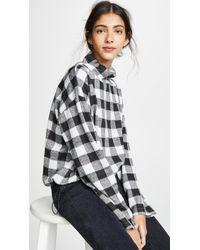 BB Dakota - Buffalo Check Sweatshirt - Lyst