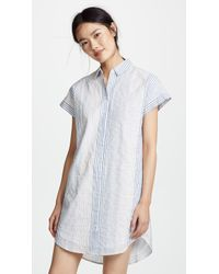 Madewell - Multistripe Central Shirtdress - Lyst