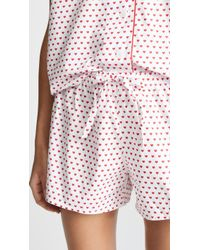 Sleepy Jones - Paloma Pyjama Shorts - Lyst