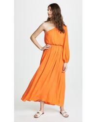 Mara Hoffman - Vera One Shoulder Maxi Cover Up Dress - Lyst