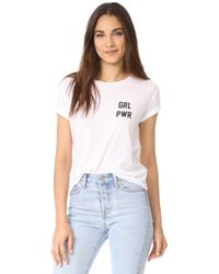Private Party - Girl Power Tee - Lyst