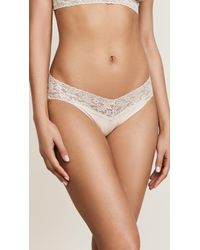 Hanky Panky - Cotton With A Conscience V-kini Briefs - Lyst