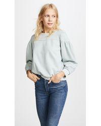 La Vie Rebecca Taylor - Long Sleeve Fleece Pullover - Lyst