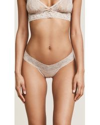 Hanky Panky - Petite Signature Lace Low Rise Thong - Lyst