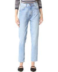 M.i.h Jeans - Mimi High Rise Skinny Jeans - Lyst