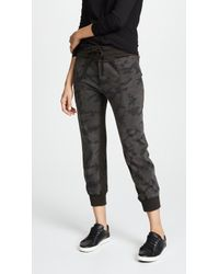 James Perse - Contrast Joggers - Lyst
