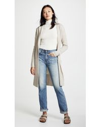 White + Warren - Luxe Hooded Cashmere Cardigan - Lyst