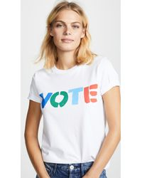 Tory Burch - Vote Tee - Lyst