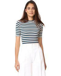 Capulet - Sandra Striped Bodysuit - Lyst