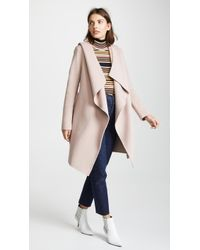 SOIA & KYO - Samia Double Face Coat - Lyst