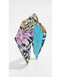NAMJOSH - Sequin Floral Headband - Lyst