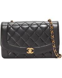 18095d3429de What Goes Around Comes Around - Chanel Classic Quilted Bag (previously  Owned) - Lyst