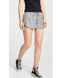 BB Dakota - Space Dye Overlap Shorts - Lyst