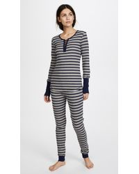 Splendid - Pleasant Stripe Pj Set - Lyst