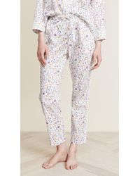 Sleepy Jones - Liberty Theo Birds Marina Pyjama Shirt - Lyst