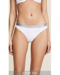CALVIN KLEIN 205W39NYC - Radiant Cotton Thong - Lyst