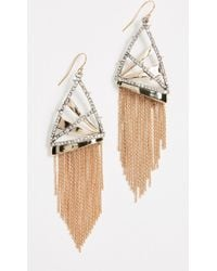Alexis Bittar - Chain Fringe Wire Earrings - Lyst