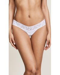 Hanky Panky - Cotton With A Conscience Petite Low Rise Thong - Lyst