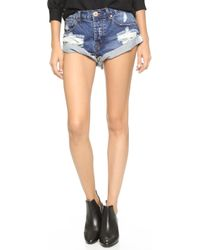 One Teaspoon | Bad Seed Bandits Shorts | Lyst
