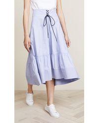 3.1 Phillip Lim - Victorian Waist Skirt - Lyst