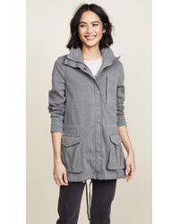 James Perse - Utility Jacket - Lyst