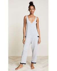 Only Hearts - French Terry Tank Jumpsuit - Lyst