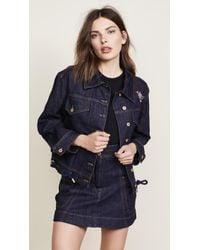 Carven - Oversize Denim Jacket - Lyst