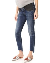 Citizens of Humanity - Maternity Racer High Low Jeans - Lyst