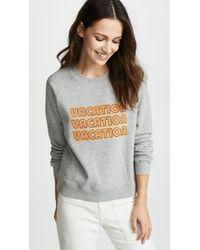 Rebecca Minkoff - Vacation Sweatshirt - Lyst