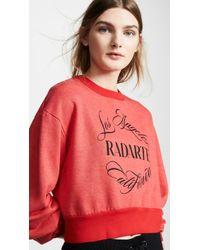 Rodarte - Radarte Emblem Sweatshirt - Lyst