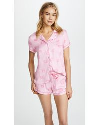 Splendid - X Vogue Short Sleeve Pj Set - Lyst