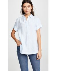 Ayr - The Burst Linen Shirt - Lyst