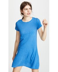 Three Dots - Pocket Tee Dress - Lyst