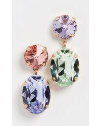 Roxanne Assoulin Hip-hop But Not Mini Me Mismatched Earrings - Multicolour