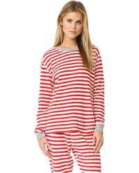 Sleepy Jones | Helen Pajama Top | Lyst
