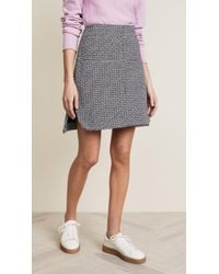 Carven - Skirt With Pockets - Lyst