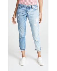 Tortoise - Savanna Rigid Cropped Slim Straight Jeans - Lyst