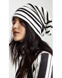 Marc Jacobs - Uneven Stripe Hat - Lyst