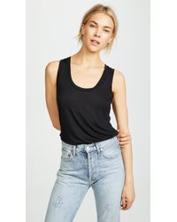 L'Agence - Perfect Tank Top - Lyst