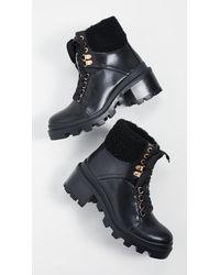 Alice + Olivia - Hettie Combat Boots - Lyst