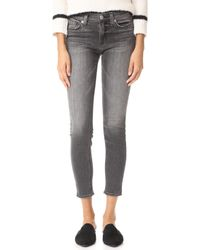 Hudson Jeans - Nico Mid Rise Ankle Super Skinny Jeans - Lyst